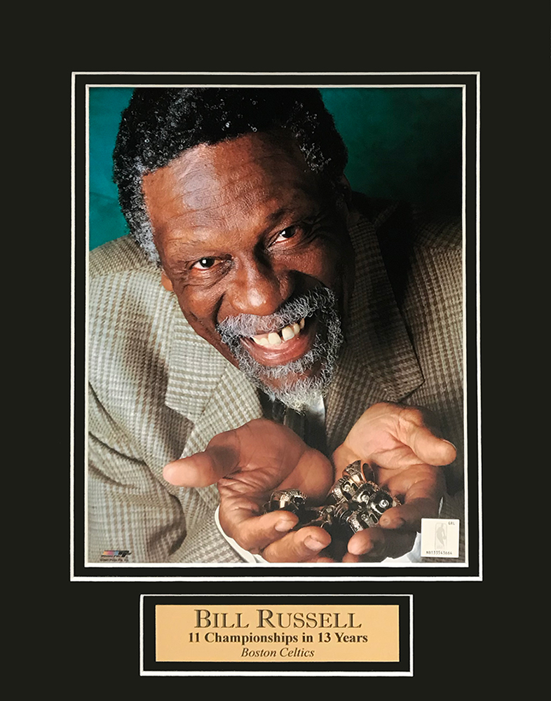 Image result for bill russell rings